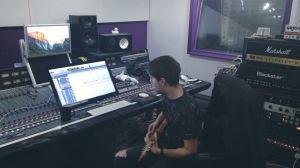 Tracking Guitar @ Univibe Audio